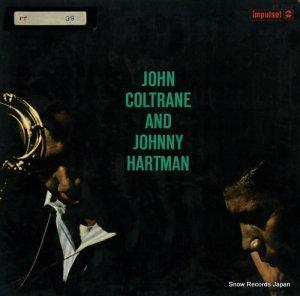 ジョン・コルトレーンとジョニー・ハートマン - john coltrane and jimmy hartman - SR-3112