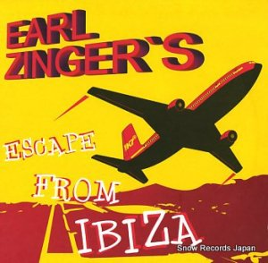 EARL ZINGER - escape from ibiza - K7121EP