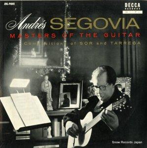 アンドレス・セゴビア - ソルとタレガの作品集 - JDL-9001