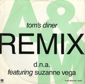 D.N.A. FEATURING SUZANNE VEGA  - tom's diner - AMX592