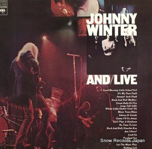 ジョニー・ウィンター - and/live - CG33651