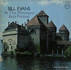 ビル・エヴァンス - モントゥルー・ジャズ・フェスティバルのビル・エヴァンス - V6-8762