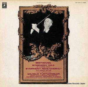 ウィルヘルム・フルトヴェングラー - ベートーヴェン:交響曲第5番「運命」&第9番「合唱」 - WF-70020-21