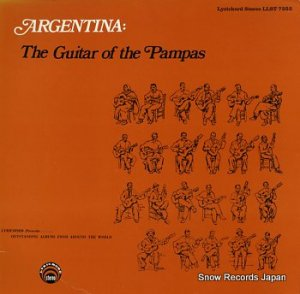 V/A - argentina: the guitar of the pampas - LLST7253