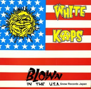 WHITE KAPS - blown in the usa - FOO3