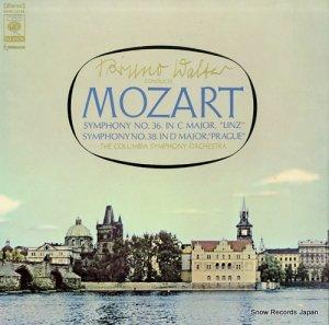ブルーノ・ワルター - モーツァルト:「リンツ」「プラーハ」 - SONC10186