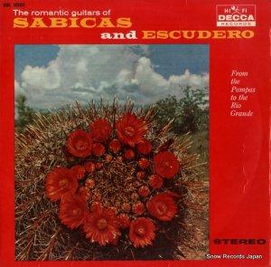 サビーカス&エスクデーロ - サビーカスとエスクデーロのロマンティック・ギター - SDL10102