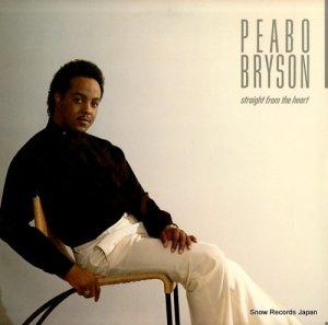 ピーボ・ブライソン - straight from the heart - 960362-1