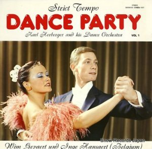KARL HERBERGER - strict tempo dance party vol.1 - CONDISC1007
