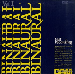 V/A - binaural / test recording for headphones - DOR-0003