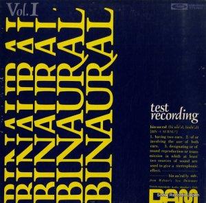 エーリッヒ・ベンゲル - binaural / test recording for headphones - DOR-0003