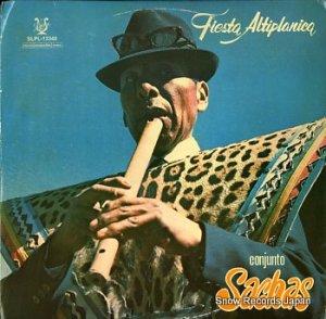 CONJUNTO SACHAS - fiesta altiplanica - SLPL-13340