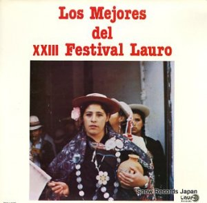 LOS MEJORES - xxiii fenstivalv lauro - BO/LL-0019