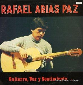 RAFAEL ARIAS - guitarra, voz y sentimiento - RLPL-533