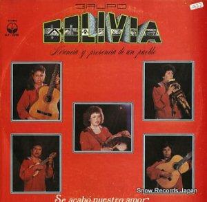 GRUPO BOLIVIA - se acabo nuestro amor - SLP-2390