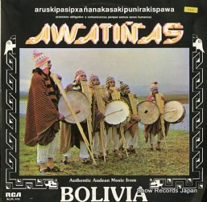 AWATINAS - autentic andean music from bolivia - RLPL-515