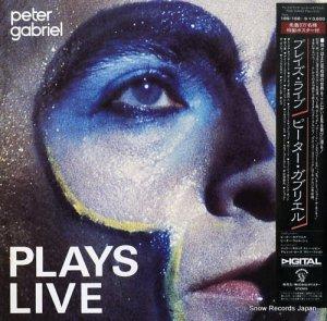 ピーター・ガブリエル - プレイズ・ライブ - 18S-168-9