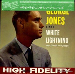 ジョージ・ジョーンズ - ホワイト・ライトニング - IMPI-10016 / MG-20477