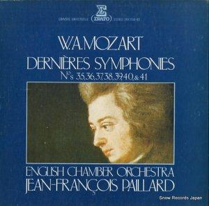 ジャン=フランソワ・パイヤール - モーツァルト:後期交響曲全集 - ERX7158-60