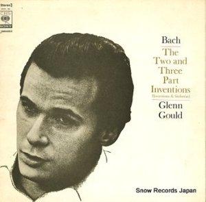 グレン・グールド - バッハ:インヴェンションとシンフォニア - SOCL96
