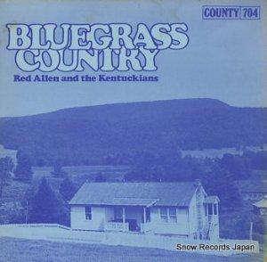 レッド・アレン - bluegrass country - 704