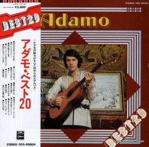 アダモ - ベスト20 - EOS-90004