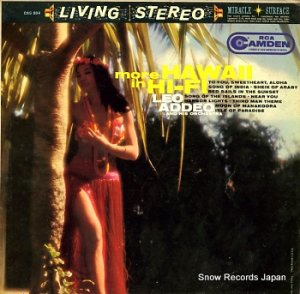 LEO ADDEO - more hawaii in hi-fi - CAS-594