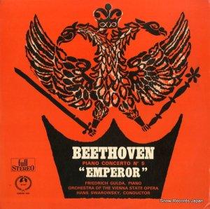 フリードリッヒ・グルダ - ベートーヴェン:ピアノ協奏曲第5番変ホ長調「皇帝」 - SM-2307