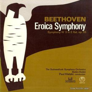 パウル・クレツキー - ベートーヴェン:交響曲第3番「英雄」 - SM-2275