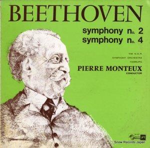 ピエール・モントゥー - ベートーヴェン:交響曲第2番ニ長調作品36 - SMS-2332