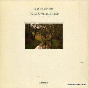 ジョージ・ウィンストン - ballads and blues 1972 - LL-81