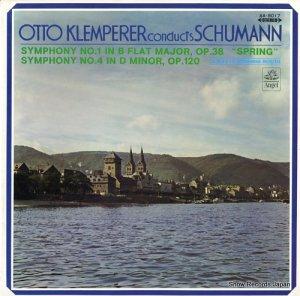 オットー・クレンペラー - シューマン:交響曲第1番変ロ長調「春」作品38 - AA.8017