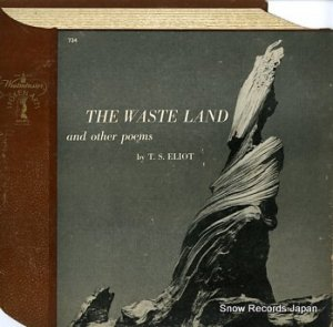 T.S.エリオット - the waste land and other poems - SPOKENARTS734