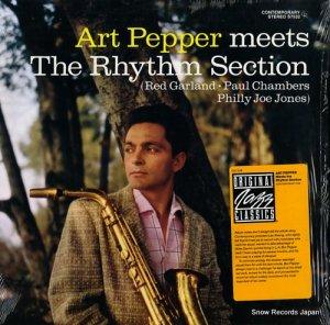 アート・ペッパー - meets the rhythm section - OJC-338