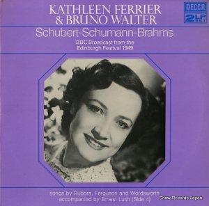 キャスリーン・フェリア - schubert-schumann-brahms - 6BB197-8