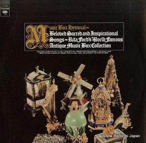 MUSIC BOX HYMNAL - beloved sacred & inspirational songs - CS9584