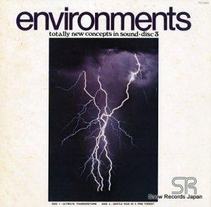 大自然と人間の発見シリーズ - 雷鳴・しょう雨に街並が蘇る/静寂・森は霧につつまれて - FDX-8503
