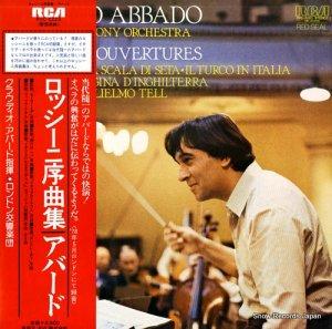 クラウディオ・アバド - ロッシーニ:序曲集 - RVC-2223