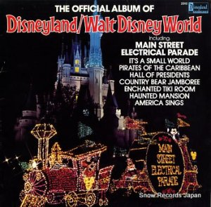 V/A - the official album of disneyland/walt disney world - DISNEYLAND2510