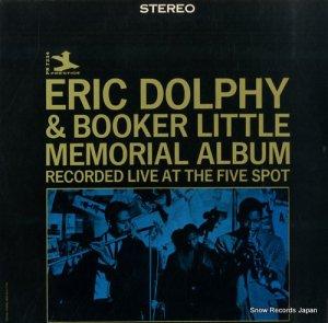 エリック・ドルフィー - eric dolphy memorial album - PR7334/PRT7334