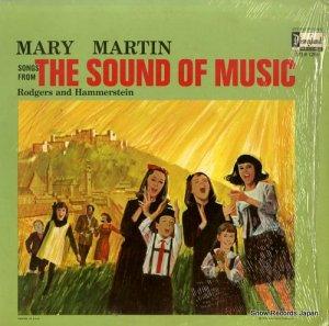メアリー・マーティン - songs from the sound of music - STER1296