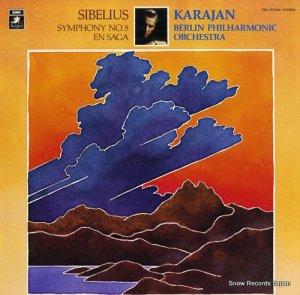 ヘルベルト・フォン・カラヤン - シベリウス:交響曲第5番&交響詩「伝説」  - EAC-80384