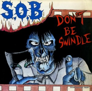 S.O.B - don't be swindle - PLATE-BEL-12020
