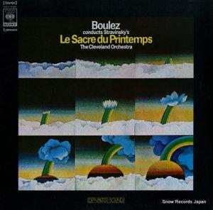 ピエール・ブレーズ - ストラヴィンスキー:バレエ音楽「春の祭典」 - SOCX21003
