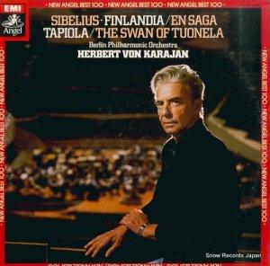 ヘルベルト・フォン・カラヤン - シベリウス:交響詩「フィンランディア」「伝説」「タピオラ」 - EAC-81005