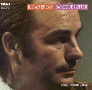 ジュリアン・ブリーム - バロックのギター名曲集 - RVC-2026