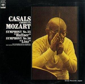 パブロ・カザルス - モーツァルト:交響曲第35番「ハフナー」&第36番「リンツ」 - 13AC946
