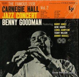 ベニー・グッドマン - the famous 1938 carnegie hall jazz concert vol.2 - CL815