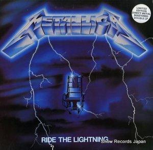 メタリカ - ride the lightning - MFN27DM