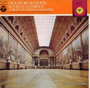 マルコム・サージェント - ムソルグスキー:組曲「展覧会の絵」 - MS-1031-EV